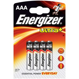 Energizer Max+ AAA LR3 4pk blister