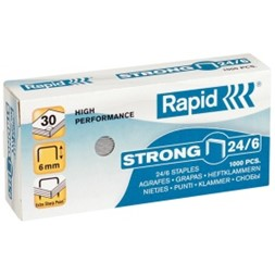 Heftestift RAPID Strong 24/6 (1000)