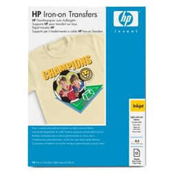 Papir HP C6050A T-shirt transfer A4 (12)