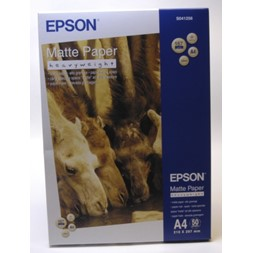Papir EPSON Heavyweight A4 167g matt(50)