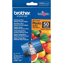 Papir BROTHER BP71 10x15 260g gloss (50)