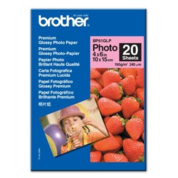 Papir BROTHER BP61 10x15 190g gloss (20)