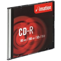 CD-R IMATION 700MB 52X slimcase (10)
