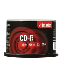CD-R IMATION 700MB 52X spindle (50)