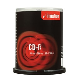 CD-R IMATION 700MB 52X spindle (100)