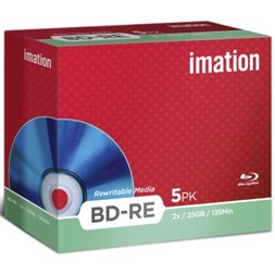 BD-RE IMATION Blu-ray 25GB jewelcase (5)