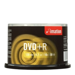 DVD+R IMATION 4,7GB 16X spindle (50)