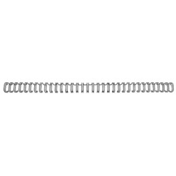 Metallspiral GBC 8mm 34r 3:1 sort (100)