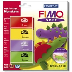 Modelleringsleire FIMO soft 8024 Monster