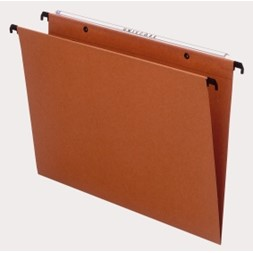 Hengemappe ESSELTE folio koblet orange