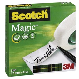 Tape SCOTCH® Magic 810 12mmx33m