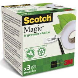 Tape SCOTCH® Magic 19mmx33m (3)