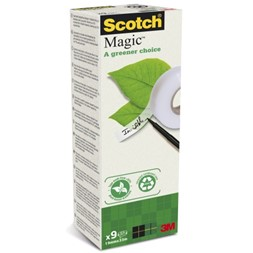 Tape SCOTCH® Magic 19mmx33m (9)